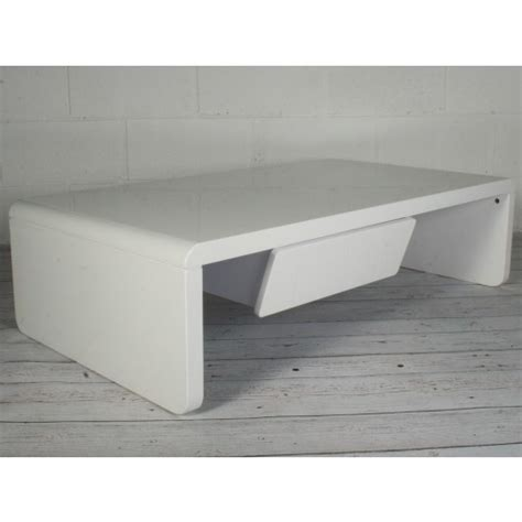 white gloss coffee table with drawers white high gloss coffee table with 1 drawer