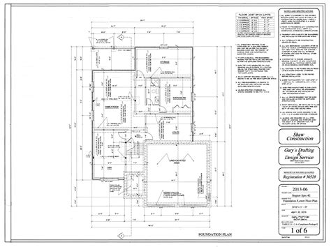 modern foundation plans for houses sle floor plan house luxamcc