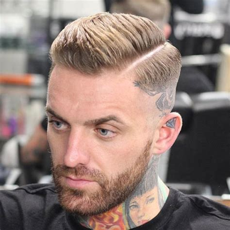 side part razor line dress the part man pinterest comb over fade haircut 2017 men s haircuts hairstyles 2017