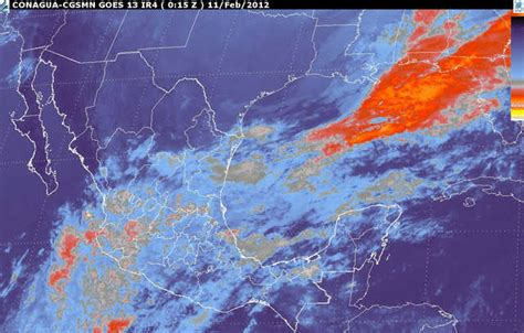 imagenes satelitales del servicio meteorologico nacional kikka m 201 xico frente frio 32 tormenta invernal luvias