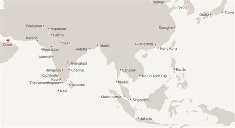 emirates destinations alaska airlines new emirates award chart and faq travelsort
