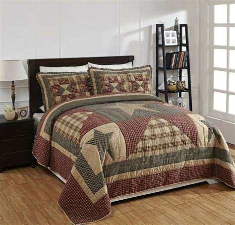 Bedding Sets by 4 Quot Plymouth Quot Quilted Bedding Set Country