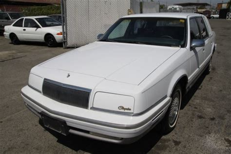1993 chrysler new yorker for sale 30 used cars from 840 1993 chrysler new yorker automatic 6 cylinder no reserve