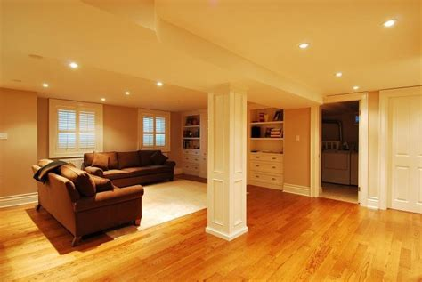 Basement Floor Finishing Stylish Small Finished Basement Ideas