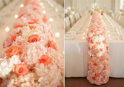 fresh flower table runner fresh flower table runners from oklahoma wedding florists