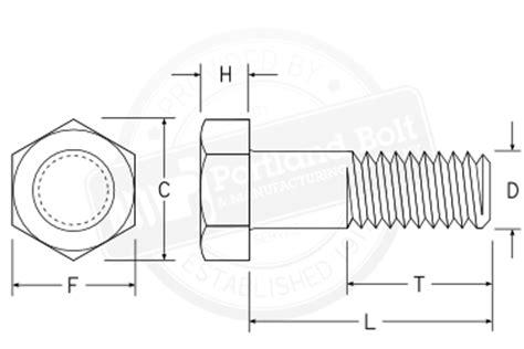 bolt detail drawing structural bolts portland bolt