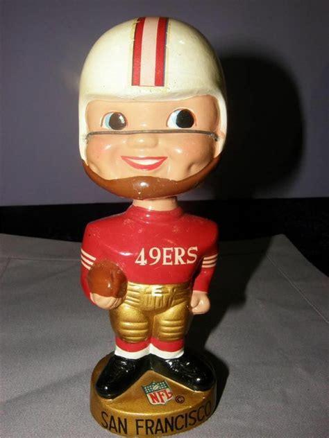 49ers bobblehead vintage nfl football 1967 san francisco 49ers bobblehead