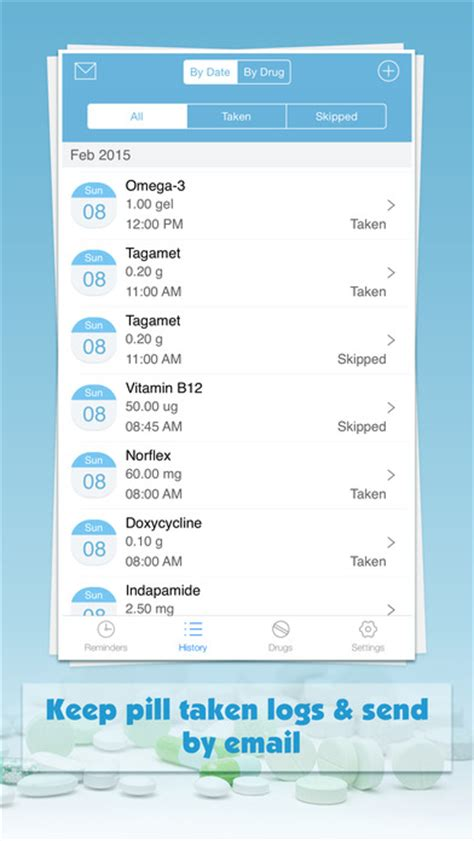 Med E Monitor Device Updates The Pillbox by Pill Monitor Free Medication Reminders And Logs Apppicker