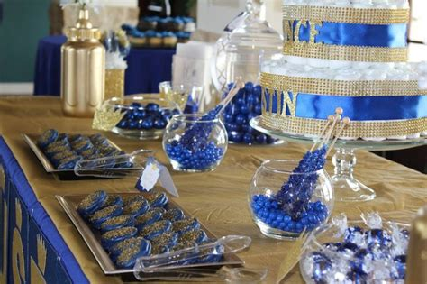 royal themed baby shower candy buffet sweetstylist