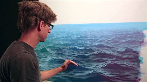 how to paint how to paint waves lesson 3 wet on dry youtube