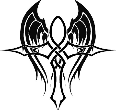 ankh tribal tattoo ankh 4 by ikue on deviantart