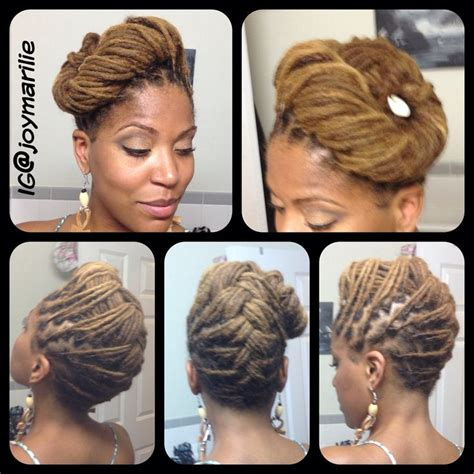 short dread pin downs and pin ups joy newton s locs updo hairstyle natural hairstyles