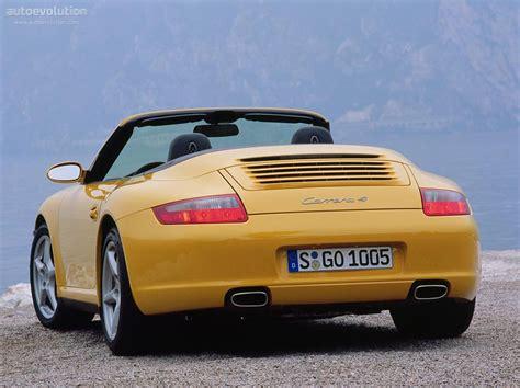 porsche 911 convertible 2005 porsche 911 carrera 4 cabriolet 997 specs 2005 2006