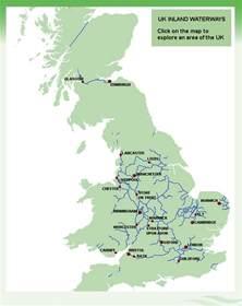 waterways map uk river map