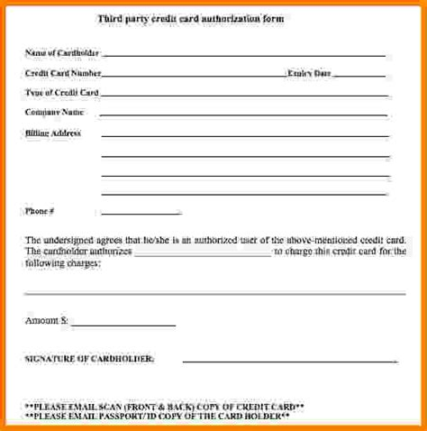 credit card authorization letter for flight booking 28 credit card authorization letter for flight booking