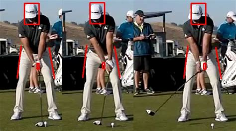 hand position golf swing dustin johnson golf swing analysis consistentgolf com