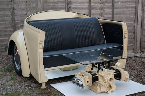 vw bug couch vw beetle sofa and coffee table