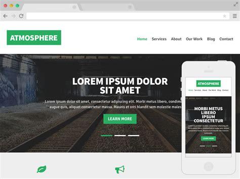 responsive website templates  website templates