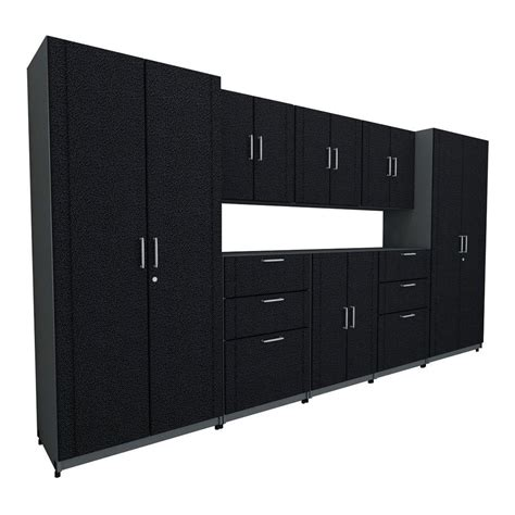 closetmaid pro garage 48 storage cabinet closetmaid 136 in w x 73 25 in h x 18 75 in d premium