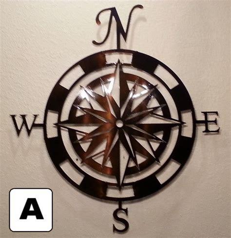 metal art home decor buy a custom made compass rose metal wall art home decor