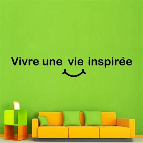 vivre une vie philosophique 236890543x sticker citation vivre une vie inspir 233 e stickers citations fran 231 ais ambiance sticker