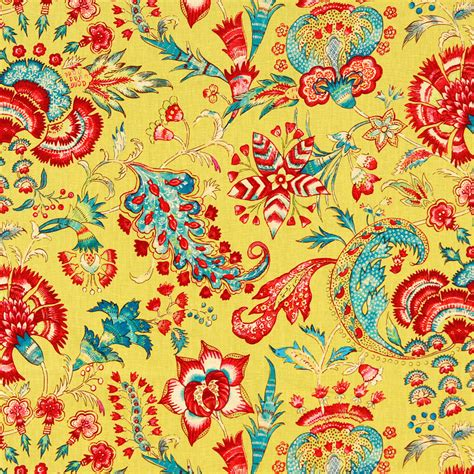 modern floral upholstery fabric yellow linen floral fabric modern red upholstery weight