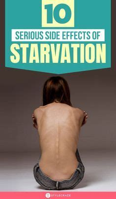 starvation   lead  severe malnutrition