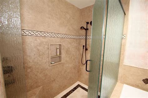 groutless showers house ideas