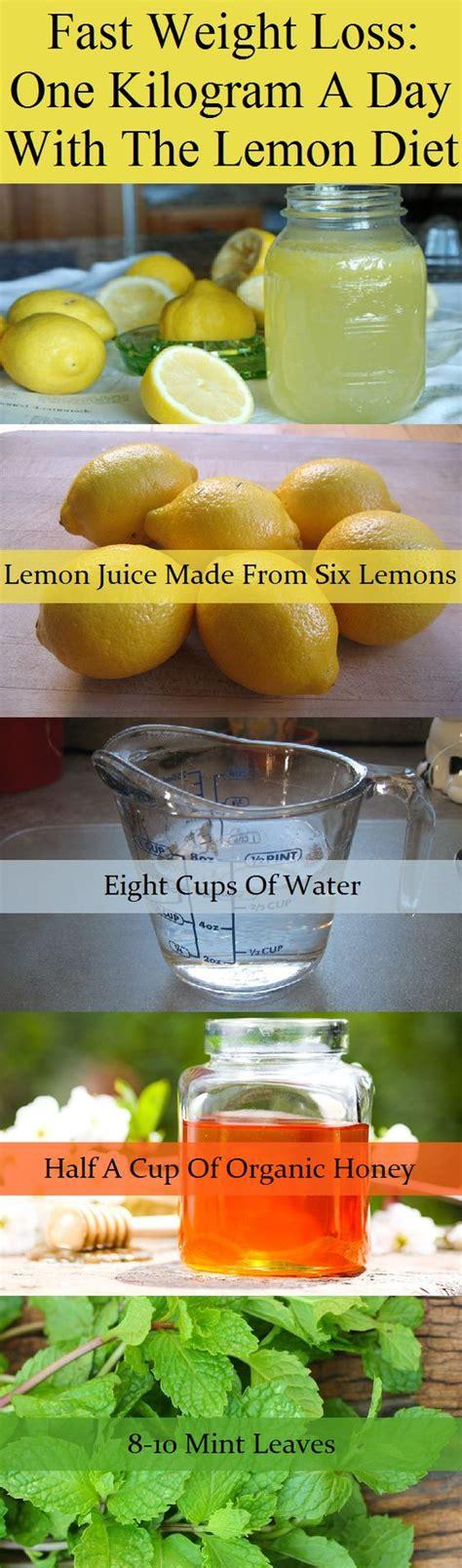Lemon Honey Water Recipe Big Batch Detox by Best 25 Lemon Water Diet Ideas On Lemon Water