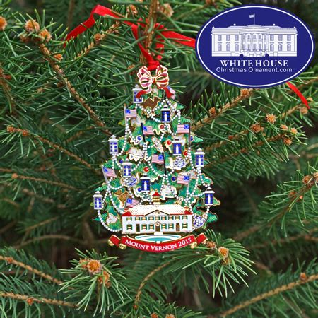 mount washington christmas tree 2015 annual mount vernon ornament