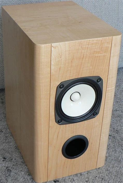 fostex fe127e diy bass reflex bookshelf speakers