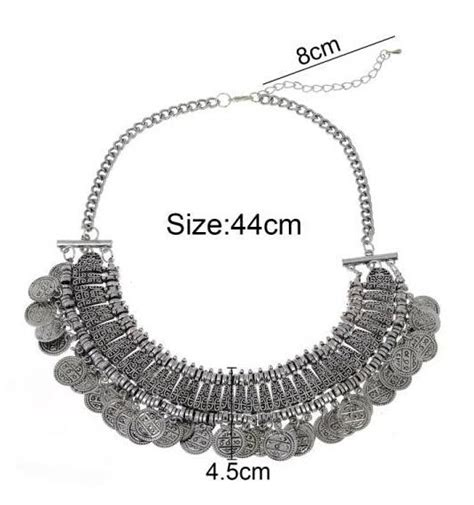 Coin Chain Anting India Fashion Import best quality jewelry vintage boho coin chuncky tassel