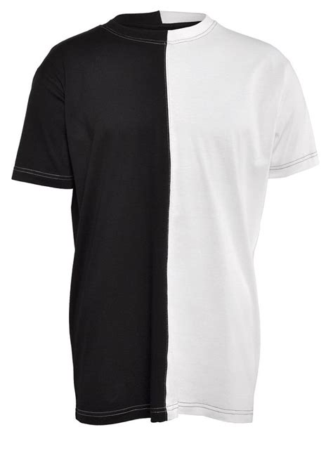 White Shirt Black by Clothing 2 Tone T Shirt Black White Basic T Shirts Coutie Want