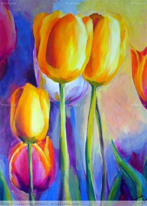 pinturas de tulipan google search  interior design