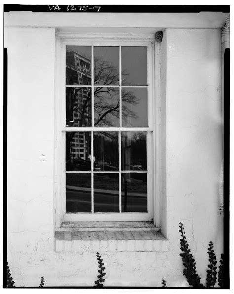 How Many Doors In The White House by Sash Window