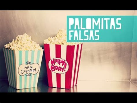 paperpop tarjetas de amor caja en forma de palomitas de cine anie youtube