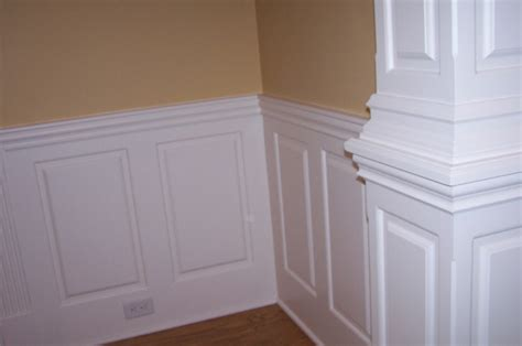 Wainscoting Walls Custom Raised Panel Pictures
