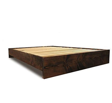 rustic platform bed frame modern and rustic platform bed frame driftwood furnitures