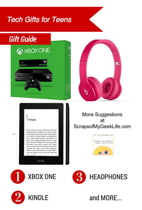 technology gifts tech gifts for teens scraps of my geek life