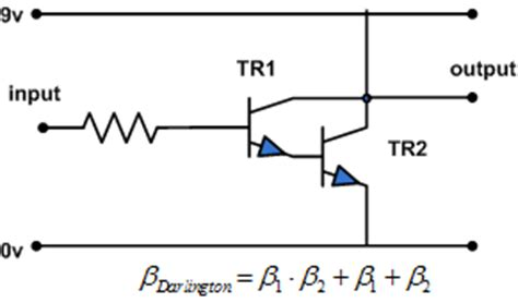 darlington transistor disadvantages concepts of engineering darlington circuit