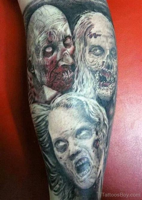 zombie tattoo gallery zombie tattoos tattoo designs tattoo pictures page 2