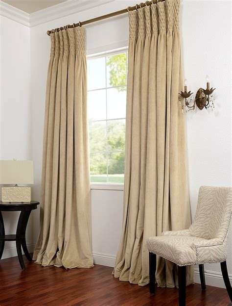 smocked curtains smocked heading curtain headings pinterest
