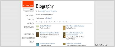 biography book download over 4 000 free biography autobiography memoir ebooks