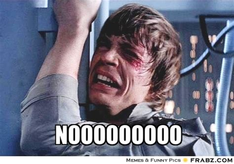 Luke Skywalker Meme - nooooooooo luke skywalker meme generator captionator