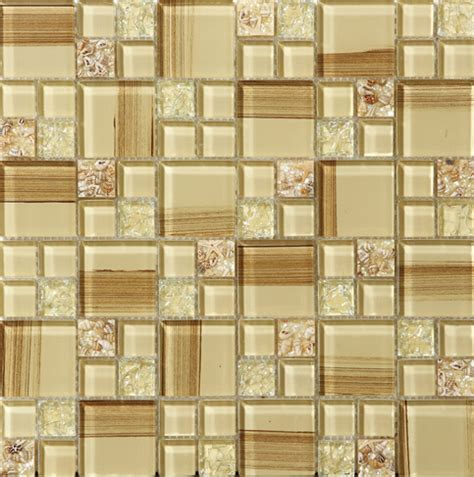 decorative kitchen wall tiles crackle glass tile paint cystal glass resin with