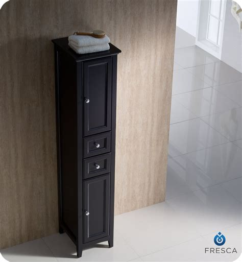 tall bathroom linen cabinet fresca fst2060es oxford espresso tall bathroom linen cabinet