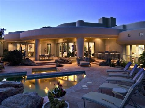 modern desert home design gorgeous desert mountain retreat with two bedroom guest