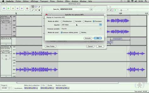 cd format vs mp3 audacity 9 9 exportation du projet au format mp3 ou
