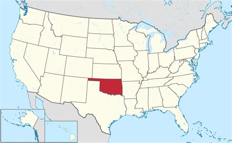 map usa oklahoma file oklahoma in united states svg wikimedia commons