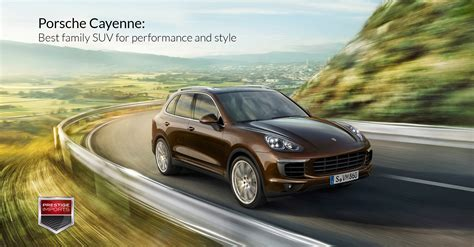 porsche payment center porsche cayenne best family suv for performance and style